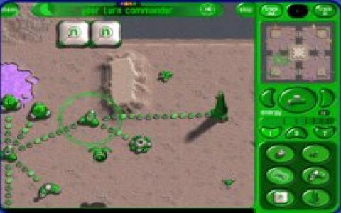 Moonbase Commander - game cover