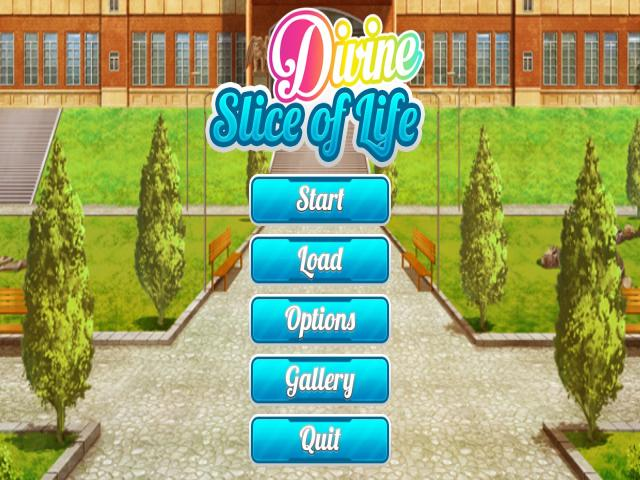 Divine Slice of Life - title cover