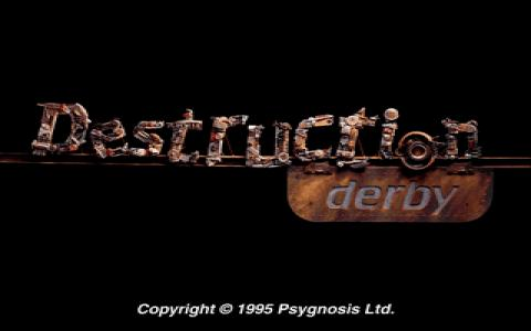 Destruction Derby - game cover