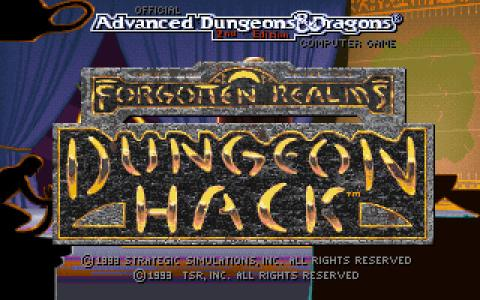Dungeon Hack - game cover
