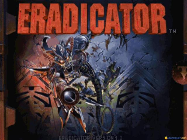 Eradicator - title cover