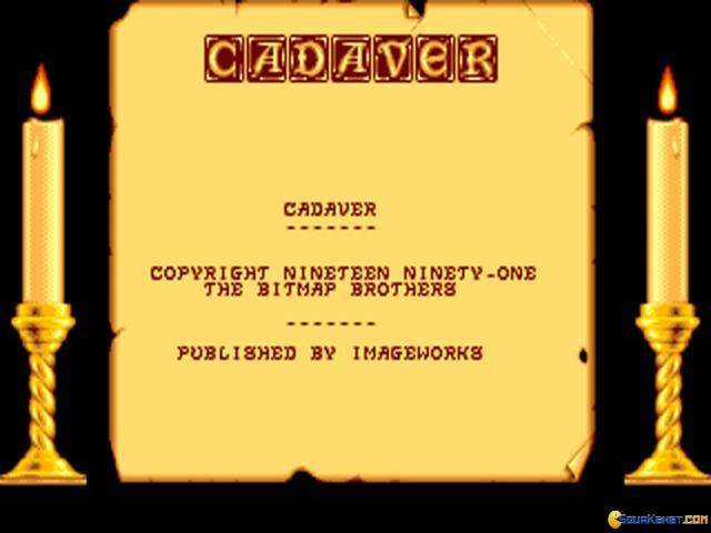 Cadaver - title cover