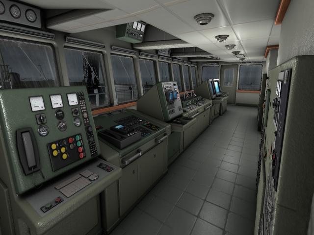European Ship Simulator - title cover