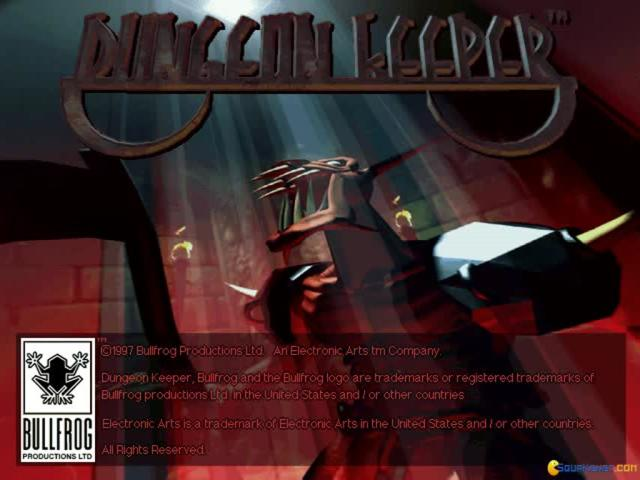 Dungeon Keeper Gold - game cover
