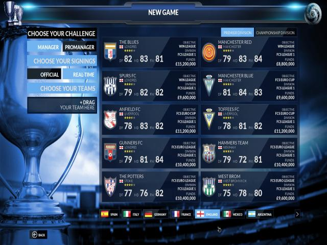 Football Club Simulator - FCS - title cover