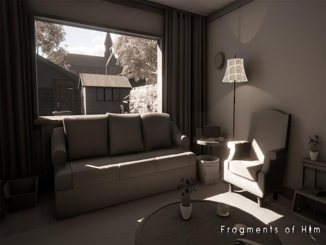 Fragments of Him - title cover