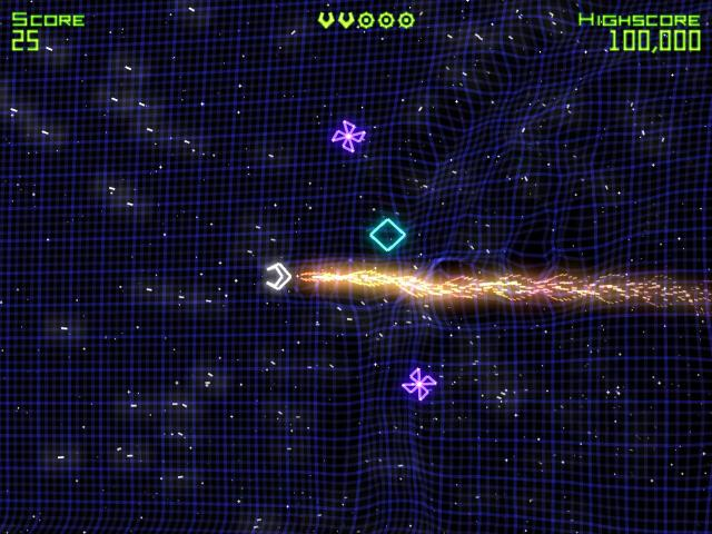 Geometry Wars: Retro Evolved - title cover