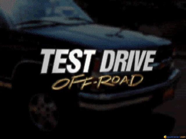 Test Drive Off Road - title cover
