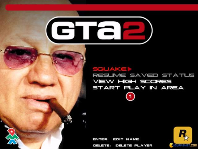 GTA 2: Grand Theft Auto 2 - title cover