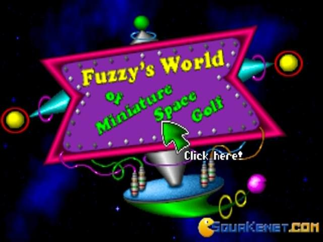 Fuzzy's World of Miniature Space Golf - title cover