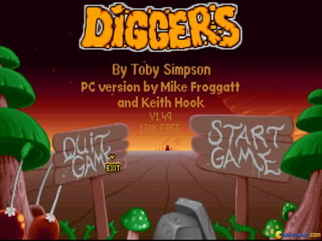 Diggers - game cover
