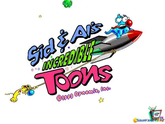 Sid & Al's Incredible Toons - game cover