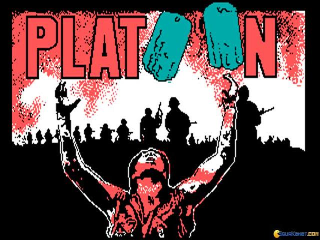 Platoon - game cover