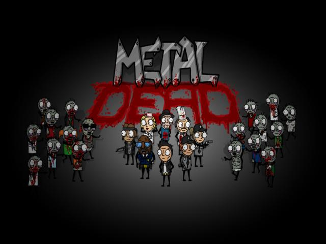 Metal Dead - title cover