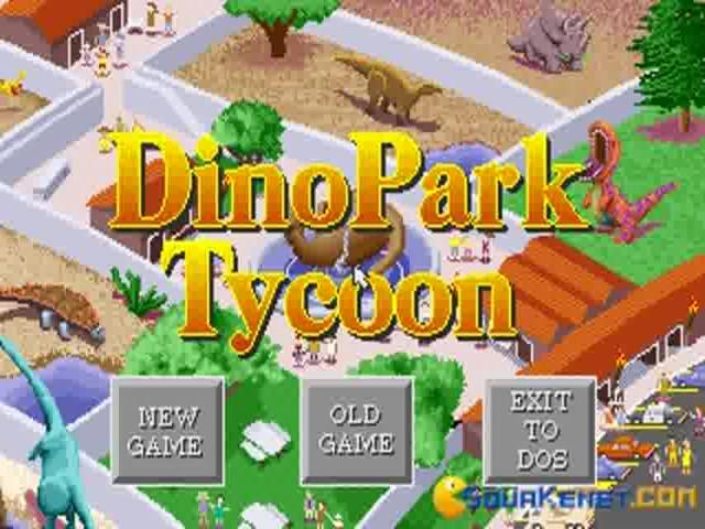 Dinopark Tycoon - game cover