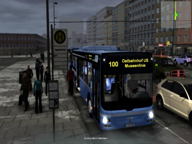 Munich Bus Simulator - title cover