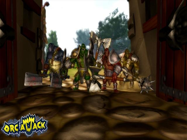 Orc Attack: Flatulent Rebellion - title cover