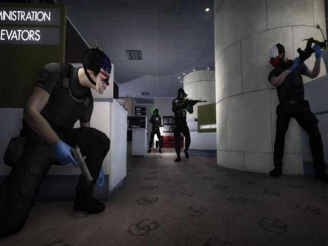 PAYDAY The Heist - title cover