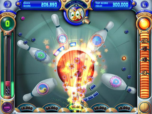 Peggle Deluxe - game cover