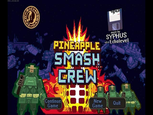 Pineapple Smash Crew - title cover
