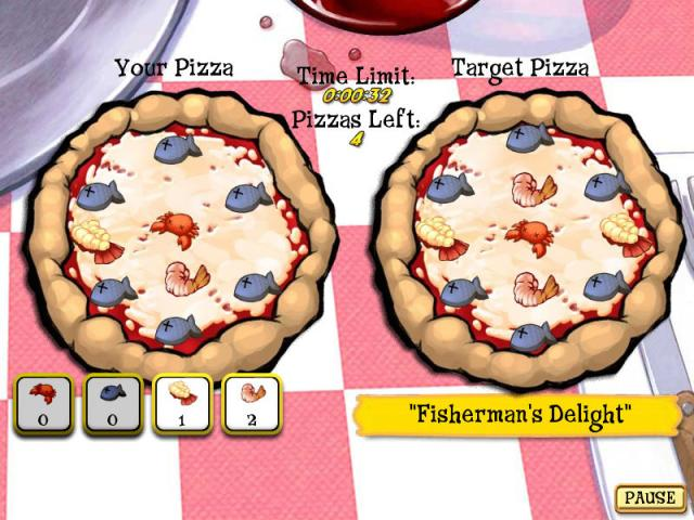 Pizza Frenzy Deluxe - game cover