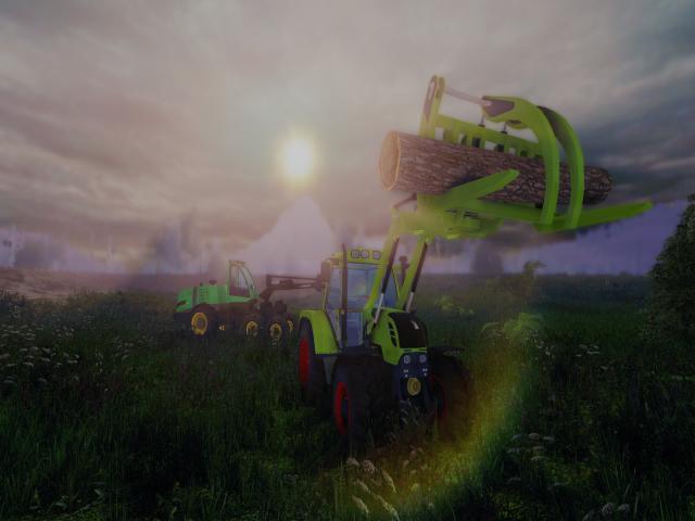 Professional Lumberjack Simulator 2015 - game cover