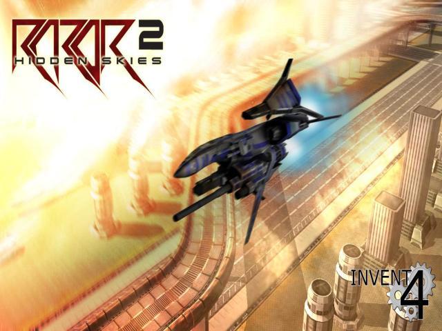 Razor2: Hidden Skies - title cover