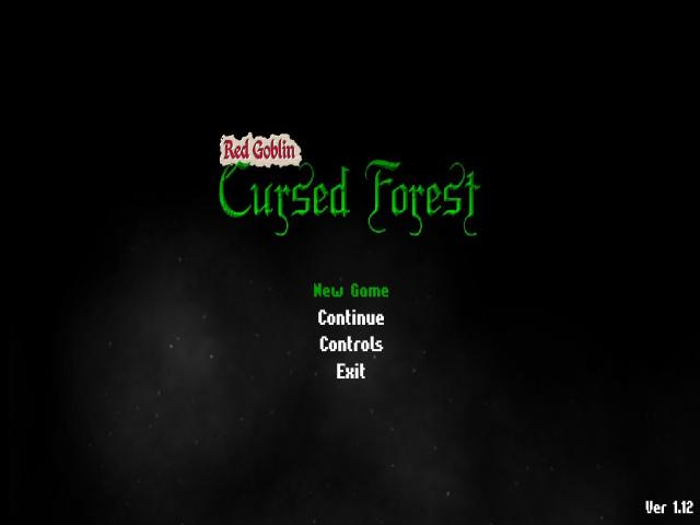 Red Goblin: Cursed Forest - title cover