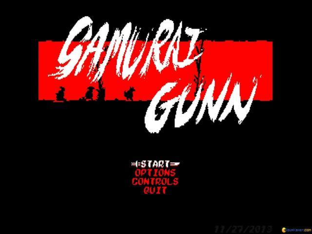 Samurai Gunn - game cover