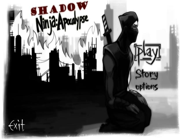 Shadow Ninja: Apocalypse - title cover