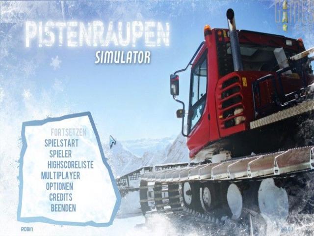 Snowcat Simulator 2011 - title cover