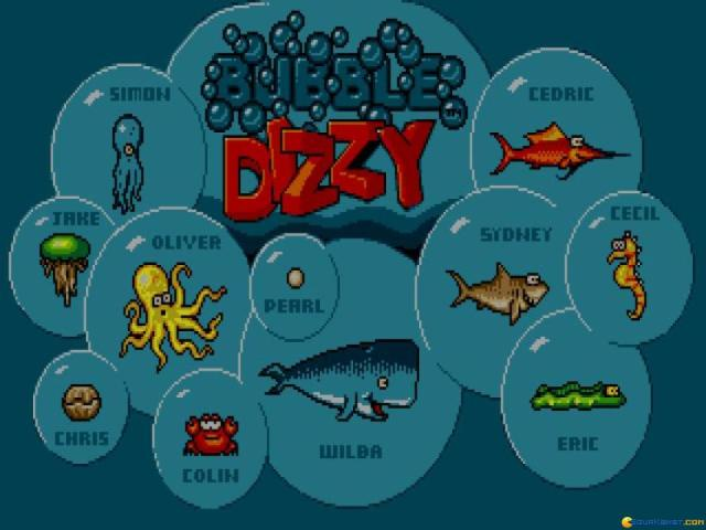 Dizzy: Bubble Dizzy - title cover