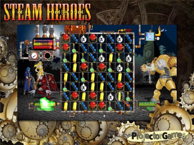 Steam Heroes - title cover