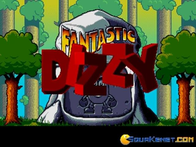 Dizzy: Fantastic Adventure of Dizzy - title cover