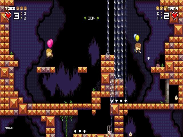 Tobe's Vertical Adventure - game cover