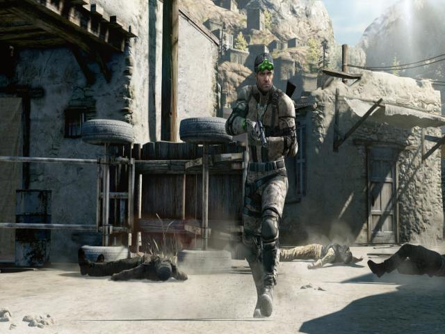 Tom Clancy's Splinter Cell Blacklist - title cover