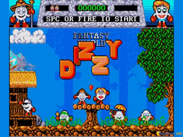 Dizzy: Fantasy World of Dizzy - title cover