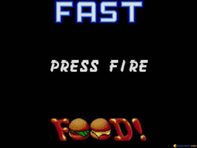 Dizzy: Fast Food Dizzy - title cover