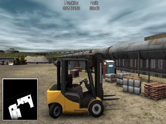 Warehouse and Logistics Simulator - game cover