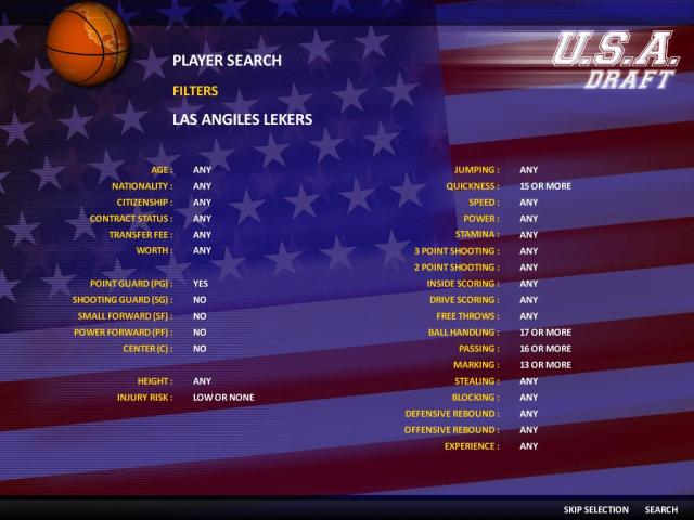 World Basketball Manager 2010 - title cover