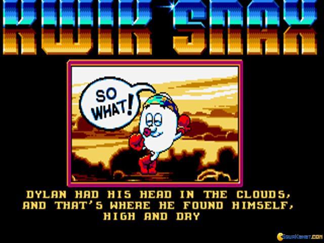 Dizzy: Kwiksnax Dizzy - game cover