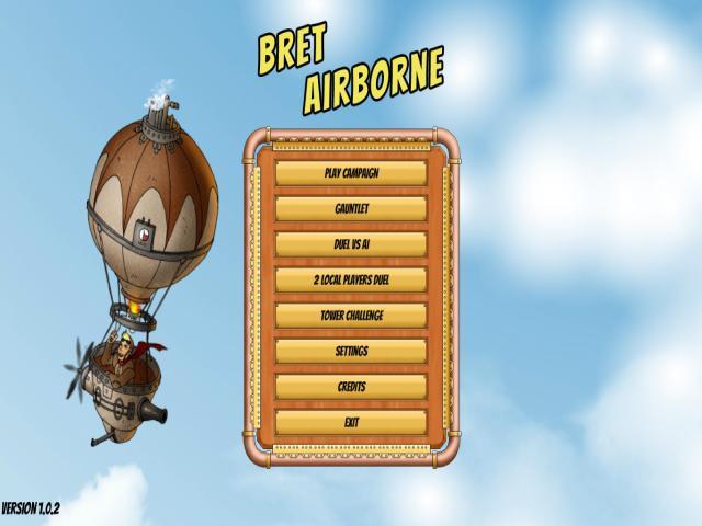 Bret Airborne - title cover