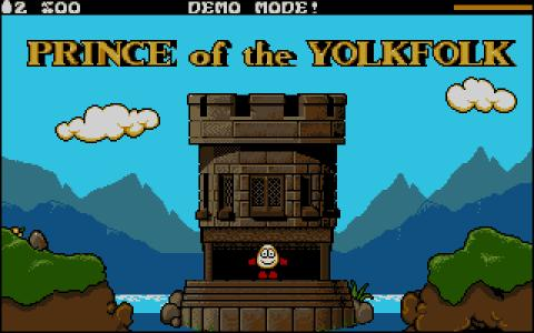 Dizzy: Prince of Yolkfolk - game cover