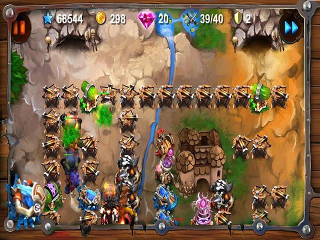 Goblin Defenders: Steel 'n' Wood - title cover