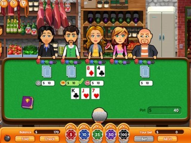 Hometown Poker Hero - title cover
