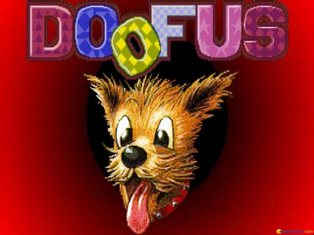 Doofus - title cover