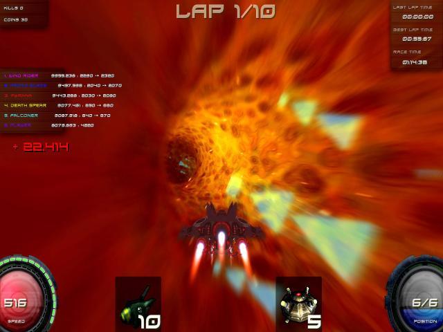 Pyroblazer - game cover