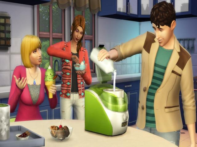 The Sims 4 Cool Kitchen Stuff - title cover