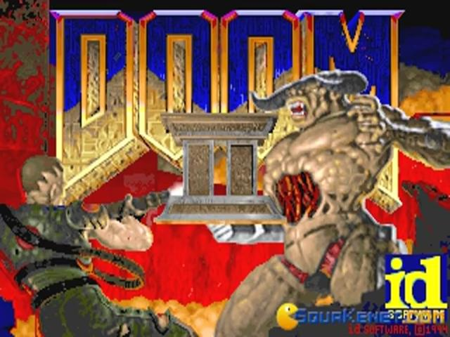 Doom 2 - title cover