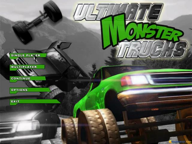Ultimate Monster Trucks - game cover